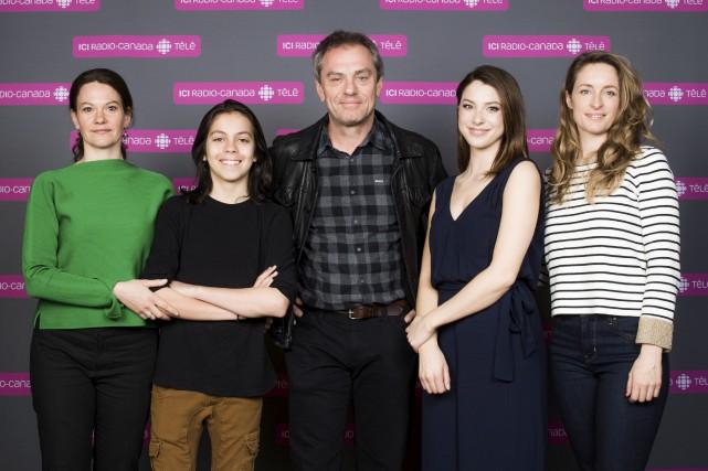 Fanny Mallette, André Kasper, Henri Chassé, Mylène St-Sauveur... (fournie par ICI Radio-Canada Télé)