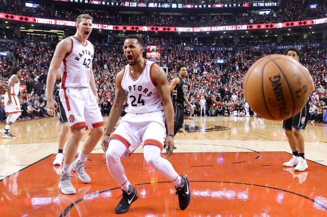 Norman Powell a inscrit 25 points et les Raptors de Toronto ont dominé les... (PHOTO PC)