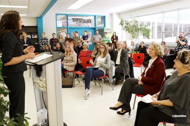L'équipe d'Alloprof Saguenay veut aider ses étudiants avec... (Photo Le Quotidien, Yohann Gasse)