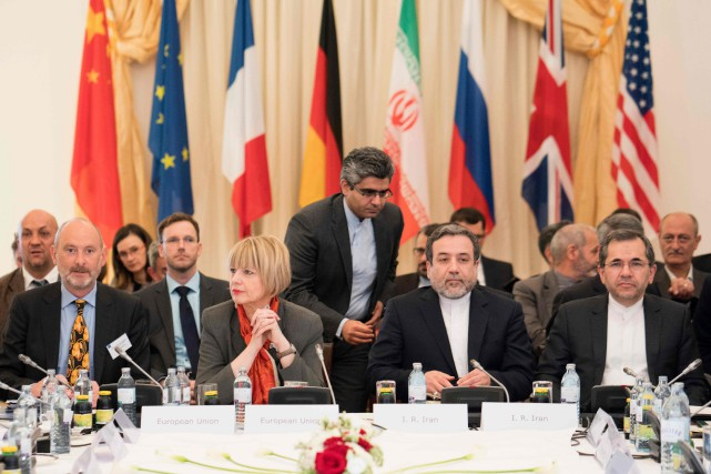 Cette réunion trimestrielle, la cinquième depuis l'entrée en... (AFP)