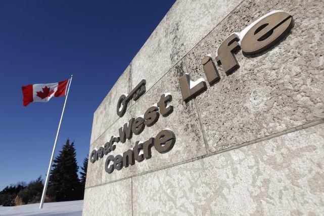 Le siège social de Great-West Lifeco à Winnipeg.... (THE CANADIAN PRESS)