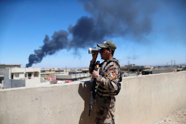 «Ce matin, les héros du service du contre-terrorisme... (REUTERS)