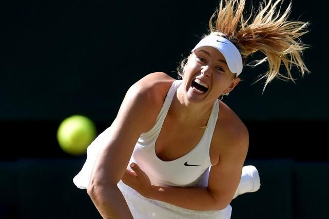 Maria Sharapovaa encore de belles années devant elle... (Photo Toby Melville, archives Reuters)