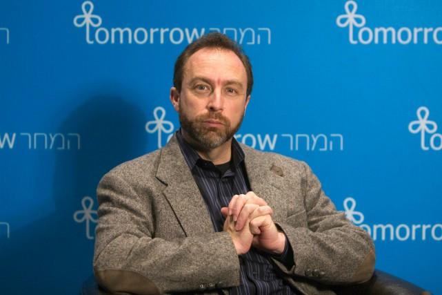 Le fondateur de Wikipédia Jimmy Wales.... (REUTERS)
