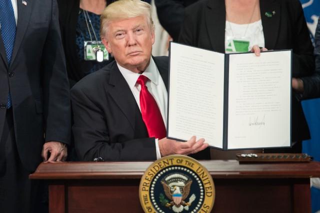 Donald Trump a assuré la semaine dernière que... (Photo Agence France-Presse)