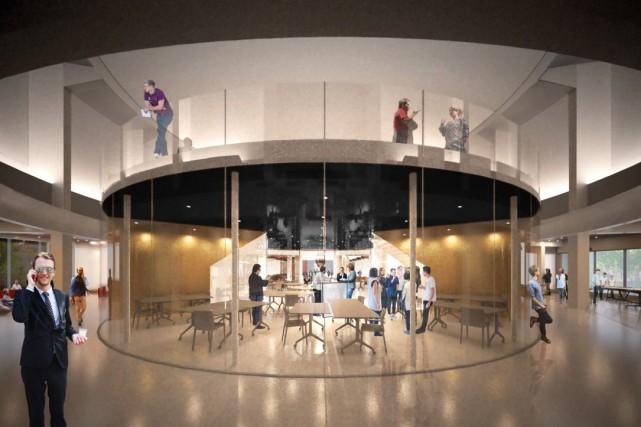 L'ancien planétarium devrait accueillir ses premiers aspirants entrepreneurs... (Photo fournie par l'École de technologie supérieure)