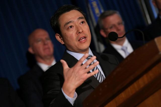 Le procureur fédéral pour le district de Manhattan,... (PHOTO REUTERS)