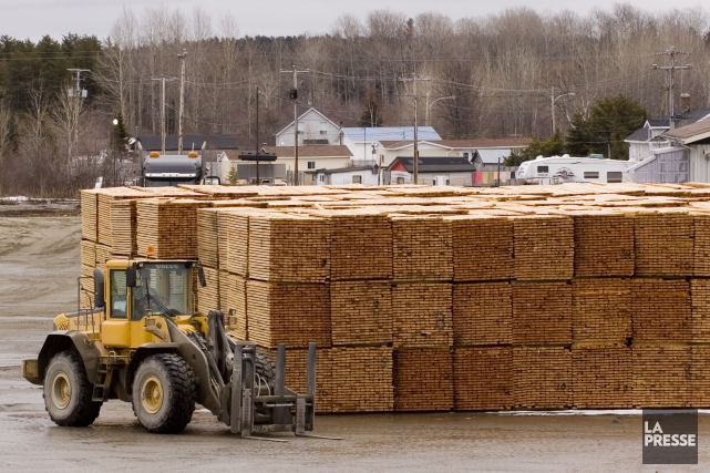 Des droits antidumping tomberont sur l'industrie du bois... (Archives, La Presse)