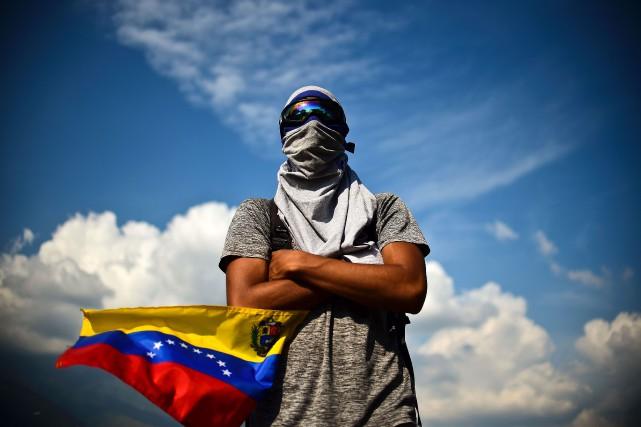Sept Vénézuéliens sur dix souhaitent le départ du... (AFP)