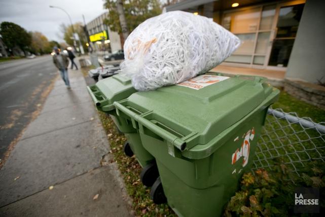 Les résidants de l'Île-du-Prince-Édouard sont les rois du recyclage et du... (PHOTO DAVID BOILY, ARCHIVES LA PRESSE)