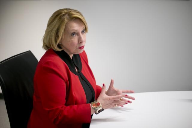 La ministre Christine St-Pierre... (Archives, La Presse)