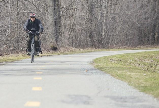 Une piste cyclable de 98 km reliant Sherbrooke... (Spectre Média, Marie-Lou Béland)