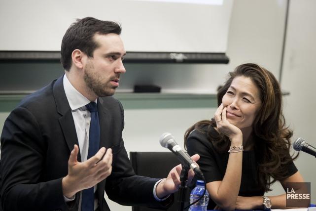 Me Paul-Matthieu Grondin l'a emporté contre Me Lu... (Photothèque La Presse, Marco Campanozzi)