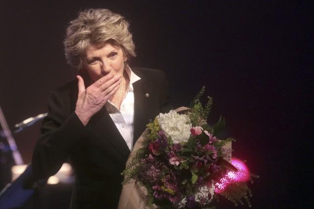 Clemence DesRochers a livré son dernier spectacle en... (Étienne Ranger, Le Droit)