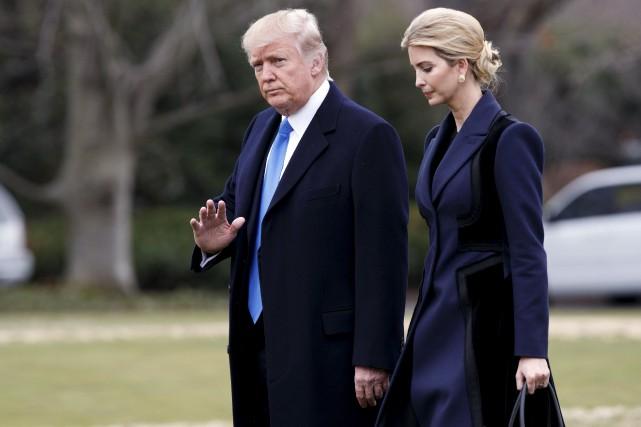 Ivanka Trump a marqué une ouverture sur la... (Photo archives AP)
