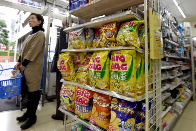 Une épicerie à Tokyo.... (PHOTO AFP)