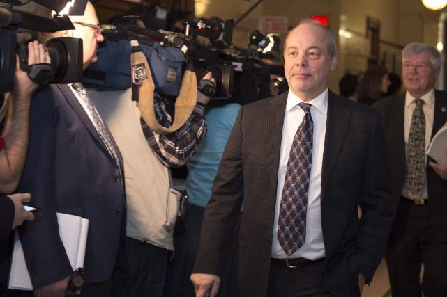 Le chef de cabinet de Philippe Couillard,Jean-Louis Dufresne.... (Photo Jacques Boissinot, archives PC)