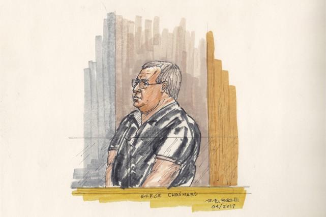 Déjà détenu, Serge Chouinard a été déclaré coupable... (illustration Bill Burelle)
