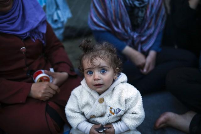 Plus de 100 000 enfants migrants et réfugiés... (PHOTO REUTERS)