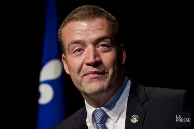 Le ministre de la Culture, Luc Fortin... (Archives La Presse, André Pichette)