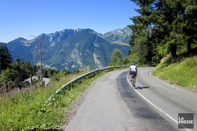 Voyage cycliste d'Alain Bisson pour section Voyage.... (La Presse, Alain Bisson)