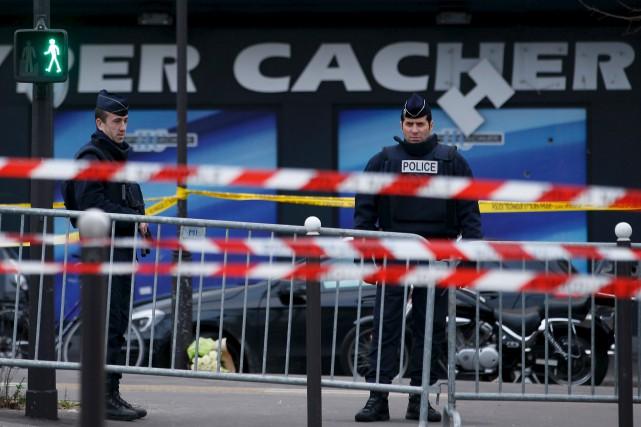 Quatre personnes avaient été tuées lors de la... (AFP, Kenzo Tribouillard)