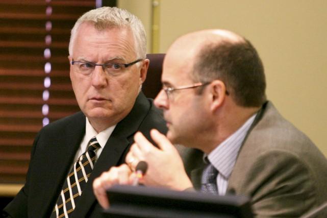 Michel Tremblay, directeur général adjoint à la Ville... (Patrick Woodbury, archives Le Droit)