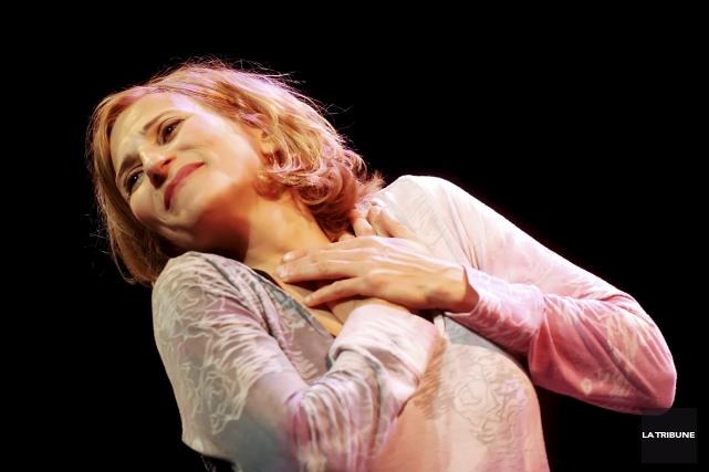 La diva Nathalie Choquette participera aux Grands concerts... (Archives, La Tribune)