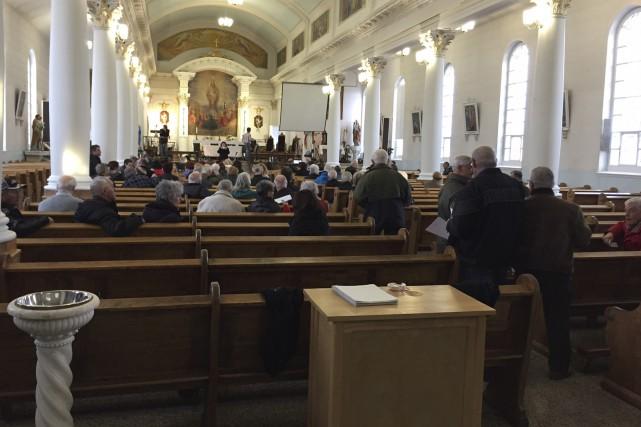 L'église Saint-Wilbrod d'Hébertville-Station... (Courtoisie)