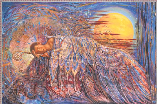 Marius Dubois, Le Sommeil d'Endymion No 3, 2001,...