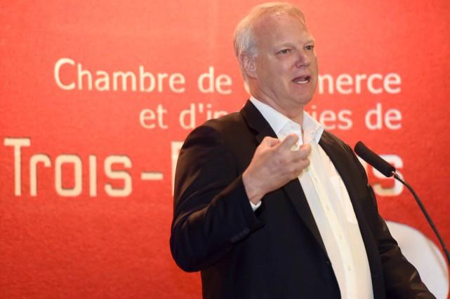 Le président et chef de la direction d'Investissements... (François Gervais, Le Nouvelliste)