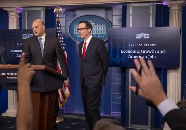 Le secrétaire au Trésor américain, Steven Mnuchin... (Photo Stephen Crowley, New York Times)