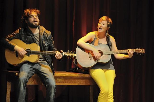 Isabelle Blais et Pier-Luc Brillant serontau centre d'art... (fournie par la production)