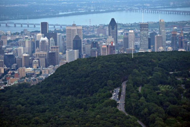 La candidature du mont Royal au patrimoine mondial... (Photo Bernard Brault, Archives La Presse)