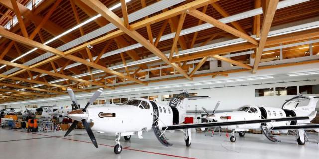 Le transporteur Pascan utilise des appareils Pilatus PC12... (photoArnd Wiegmann, archives reuters)