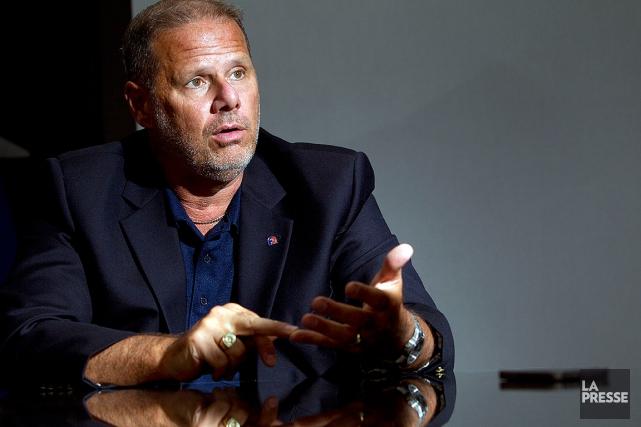 Yves Francoeur, président de la Fraternité des policiers... (Photo archives La Presse)