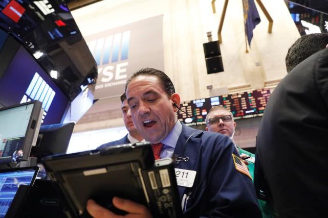 Selon les résultats définitifs, l'indice vedette Dow Jones... (PHOTO ARCHIVES REUTERS)