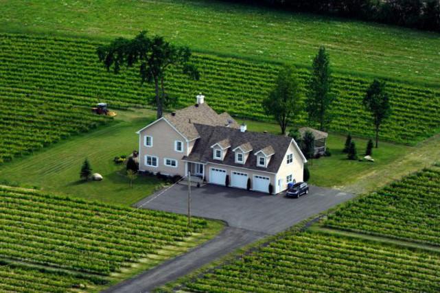 L'acheteur d'une propriété en région rurale veut s'assurer... (Photo Bernard Brault, Archives La Presse)
