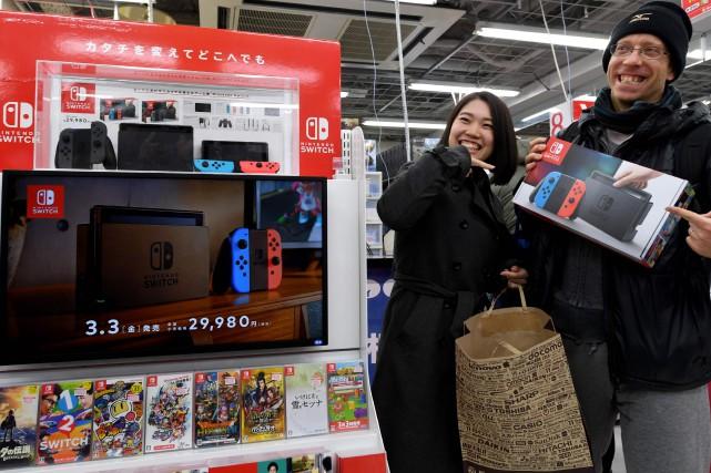 Nintendo table clairement sur la Switch pour se... (AFP)