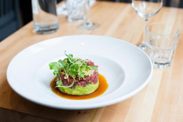 Le tartare de thon est tout ce qu'il... (Photo Edouard Plante-Fréchette, La Presse)