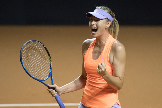 Maria Sharapova... (Thomas Kienzle, archives AFP)