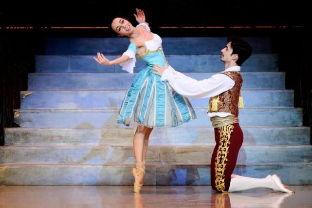 Le Ballet national d'Ukraine présente Lemariage de Figaro... (Photo Bernard Brault, La Presse)