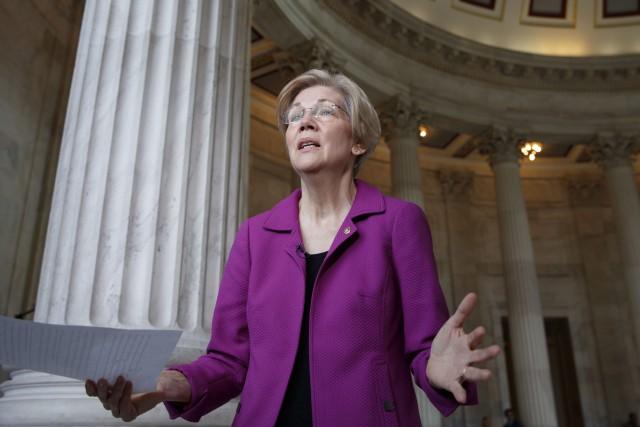 La sénatrice démocrate Elizabeth Warren, 67 ans, s'est... (PHOTO AP)