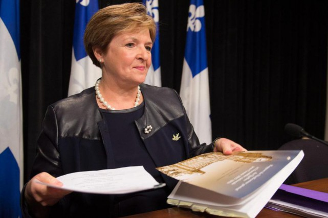 La vérificatrice générale Guylaine Leclerc... (Photo Jacques Boissinot, archives La Presse Canadienne)
