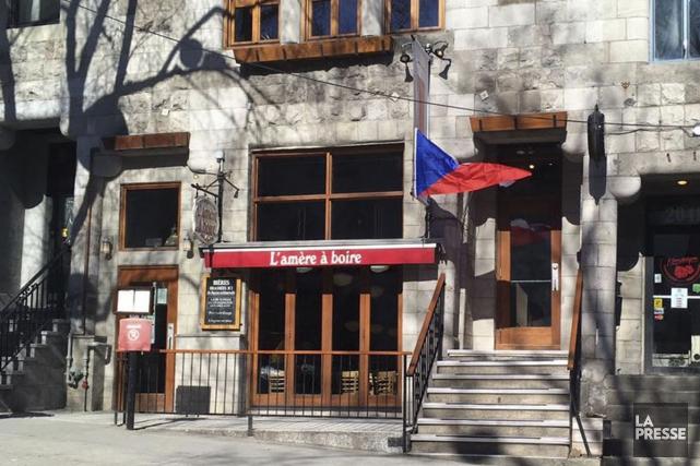 La brasserie artisanale L'Amère à boire est située... (Archives La Presse)