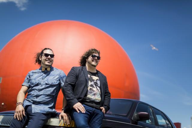 Le duo2Frères fait partie de la programmationdu Festival... (La Presse)