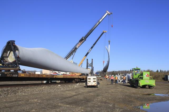 GE, le gros client de LM Wind-power, est... (Collaboration spéciale Gilles Gagné)