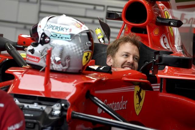 Sebastian Vettel s'attend à une riposte de Lewis... (AFP)