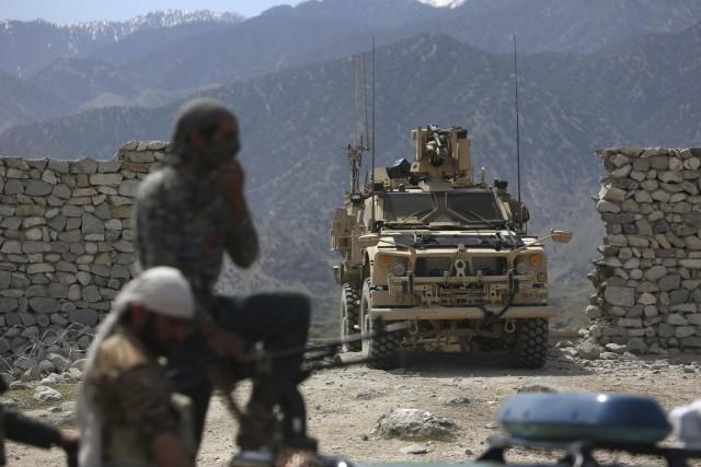 Le chef du groupe État islamique en Afghanistan,... (Archives AP)
