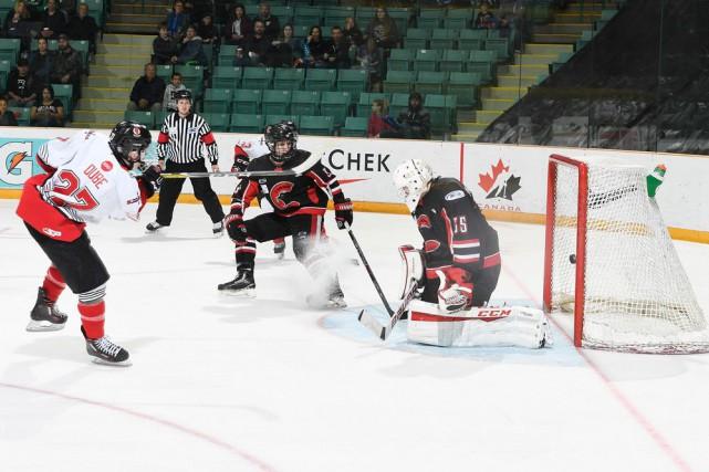 Six buts de suite en deuxième et troisième... (Matthew Murnaghan/Hockey Canada)